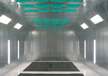 Industrial Finishing Booth